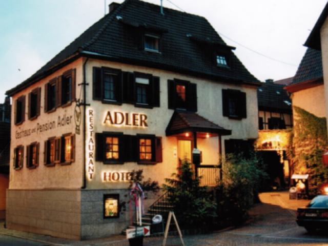 Adler Gaststube Hotel Biergarten