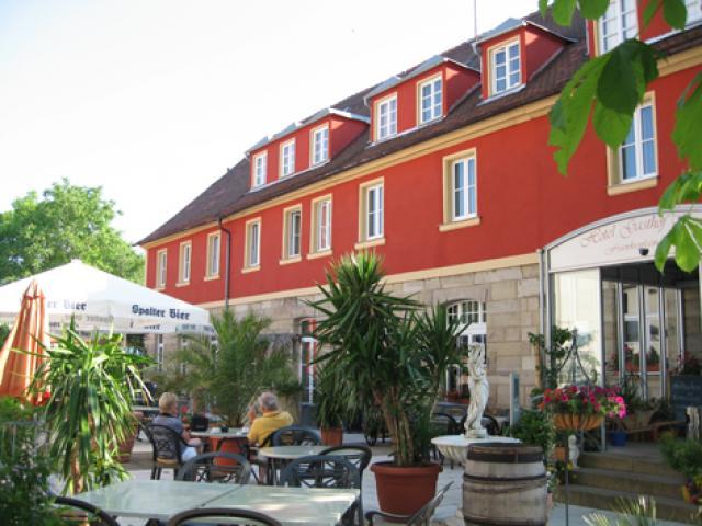 Bett Bike Hotel Gasthof Krone Frankenlandstub N