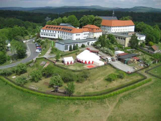 Jugendbildungsstätte Volkersberg Diözese Würzburg KdöR