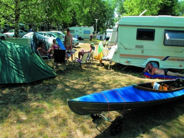 """Camping """"Am großen Mochowsee"""""""