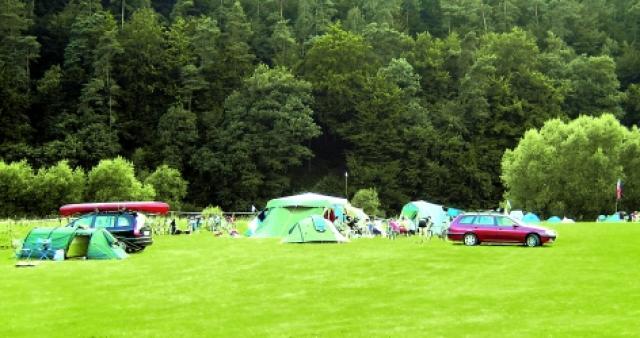 Campingplatz Fuldaschleife