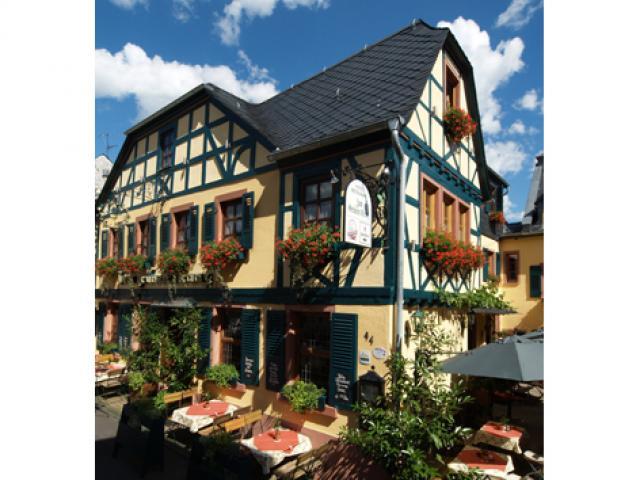 Historisches Weinhotel des Rieslings