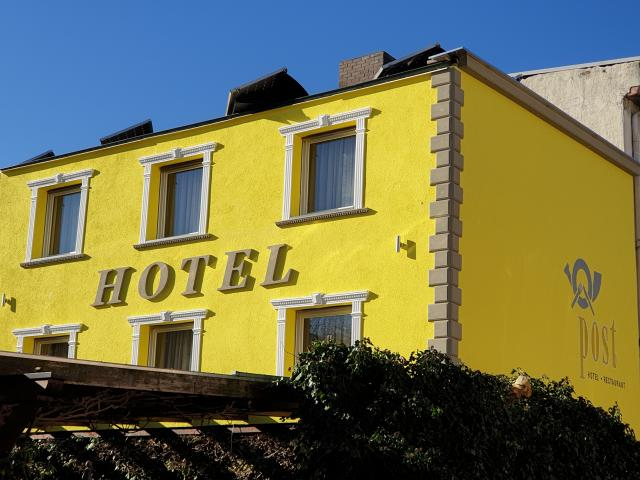 Hotel Restaurant Die Post in Bürgel