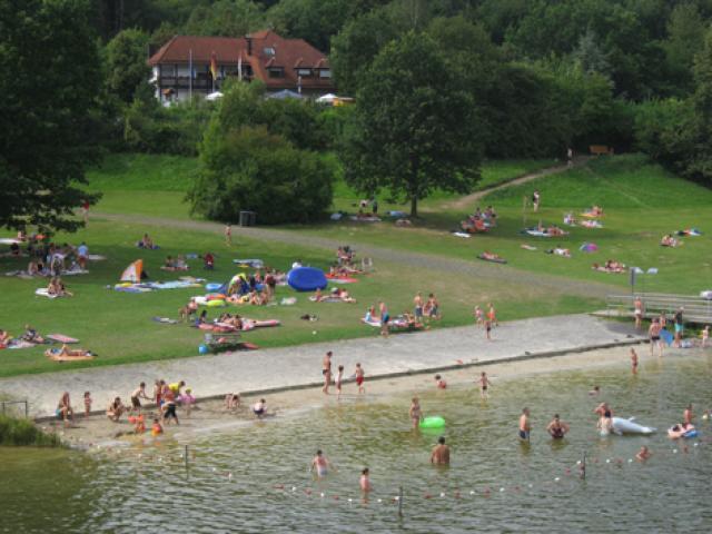 Campingplatz Ulmbachtalsperre