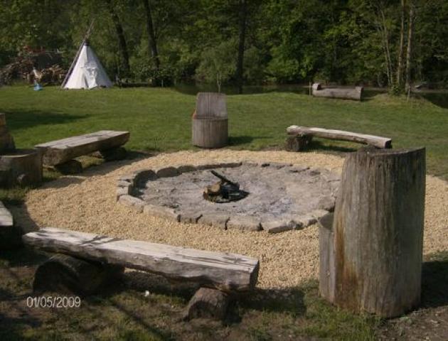 Saalerastplatz Boots Camp Döbritschen