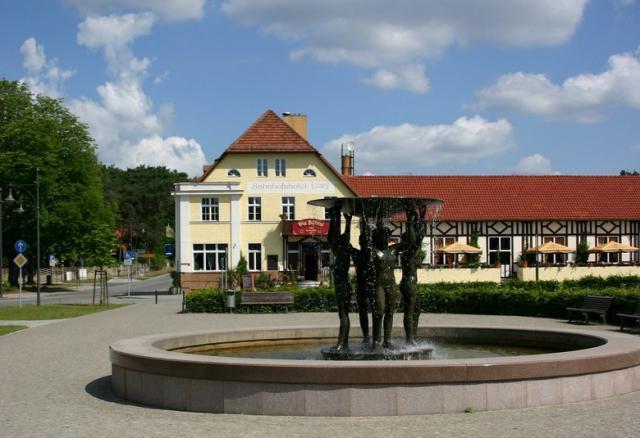Die Bühne im Hotel am Bahnhof