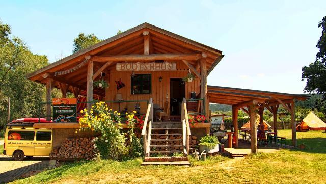 Bootshaus Orlamünde