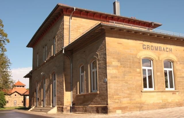 Bahnhof Grombach